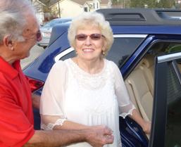 Elderly Couple Using Arrive Rides